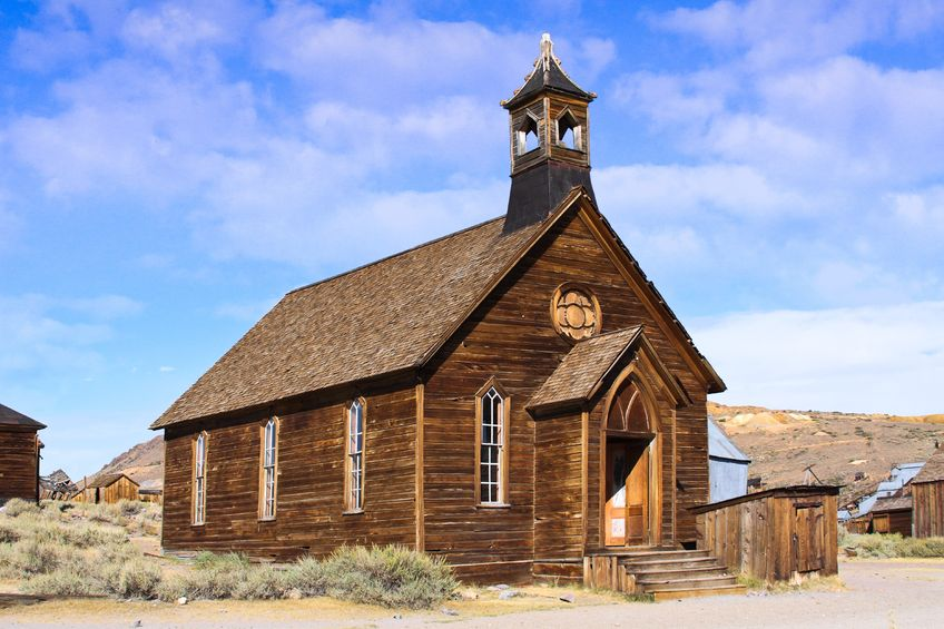 The church of Bodie