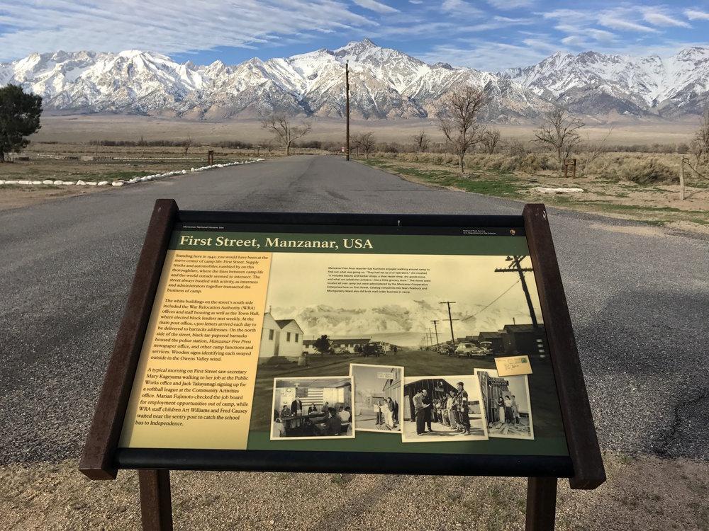 First Street, Manzanar, USA