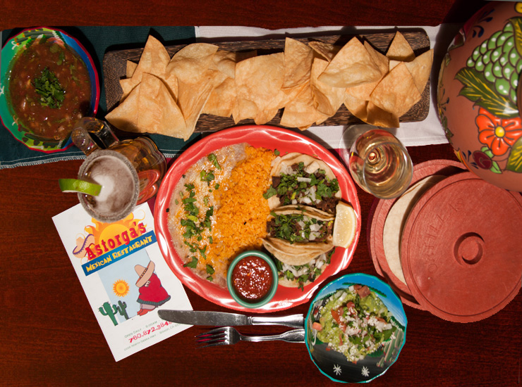 Some of the finest Mexican food on the Eastside can be found at Astorga's Restaurant ( astorgasmexicanrestaurant.com )