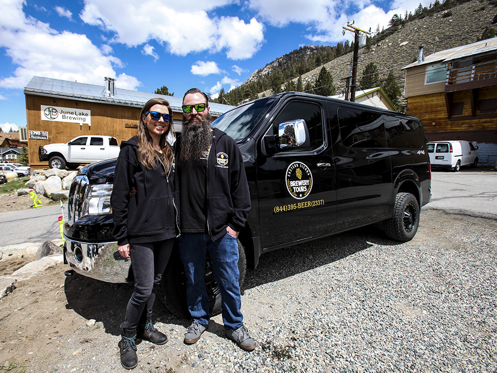 Let Eastern Sierra Brewery Tours do the driving on your beer tasting adventure ( easternsierrabrewerytours.com )