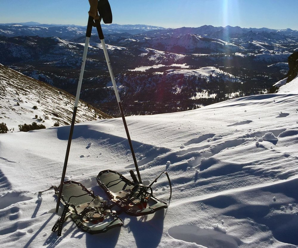 There are plenty of options for snowshoeing with a view on the Eastside