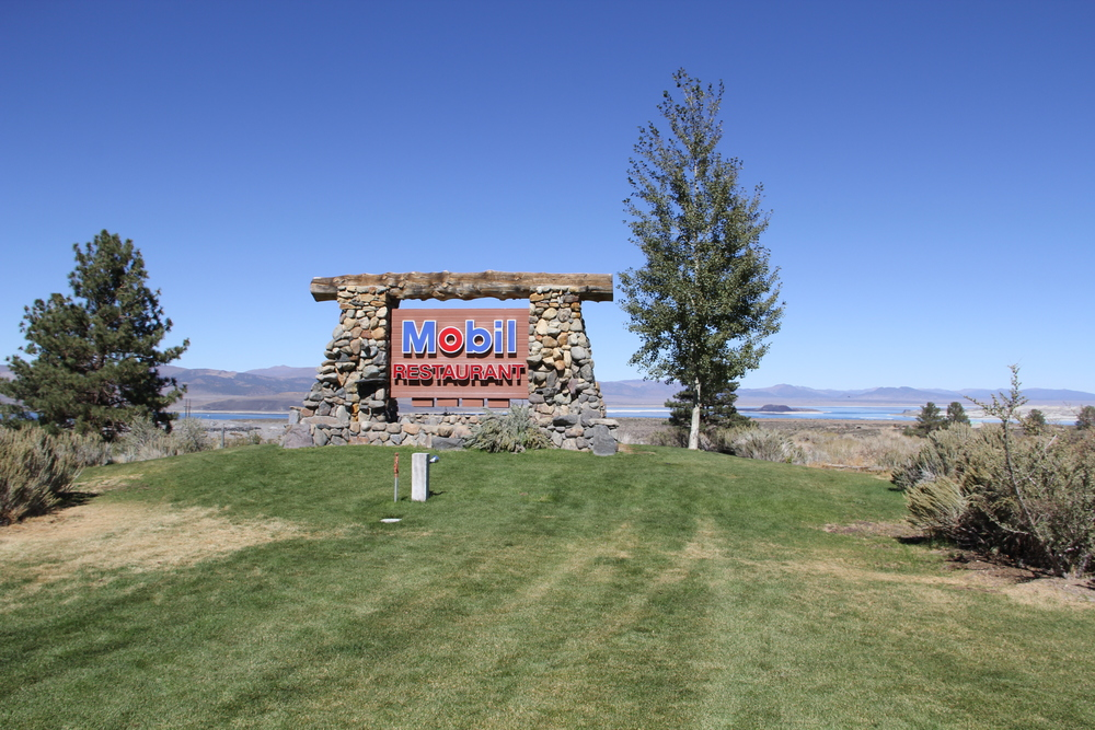 Look for the sign near the junction of Highways 395 and 120 for a stop at the Whoa Nellie Deli ( whoanelliedeli.com )