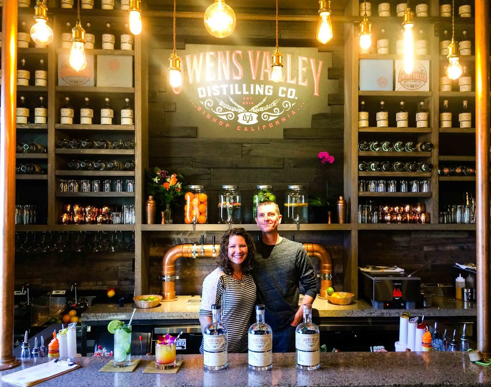 Owens Valley Distilling Company offers top notch spirits and cocktails in a polished setting