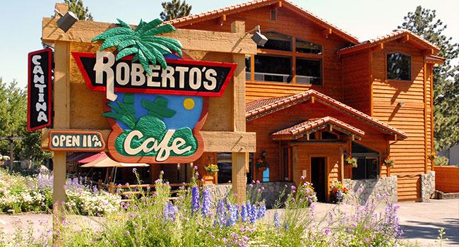 Roberto's Cafe has been Mammoth's favorite Mexican restaurant since 1985.  robertoscafe.com