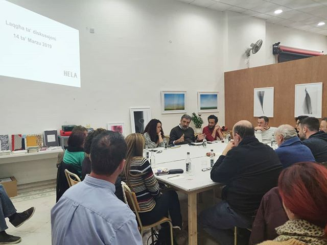 What standards should the literary sector be aiming for?  Writers, translators, publishers and editors share views and dreams in today's  roundtable discussion organised by HELA (the hub for excellence in the literary arts). HELA is based at Studio Solipsis.  #HELA #studiosolipsis #discussion #literature  #editors #publishers #authors #malta #translators