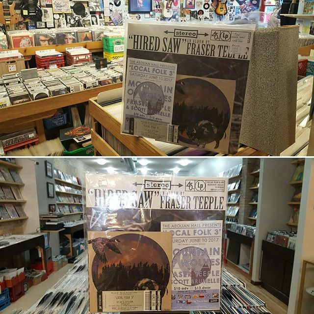 "Repost from @theaeolian -  Head down to @groovesrecords or #villageidiot and pick a copy of @fraserteeple's LP, @mountainofwolves' 7"", and two tickets to #localfolkIII for only $26! That's right, buy some local music and get two #free tickets to a local show. @scottbrunelle is also on the bill. Limited quantity available. #ldnent #ldnont #folk #localmusic @oevillager @londonevents4u @chrwradio @ldnmusicoffice @ldnfuse @ldnartscouncil - #repost"