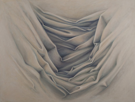 "Flesh Drapery III  54"" x 72"" oil/canvas 2011"