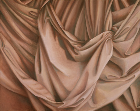 "Flesh Drapery I  30"" x 38"" oil/canvas 1988"