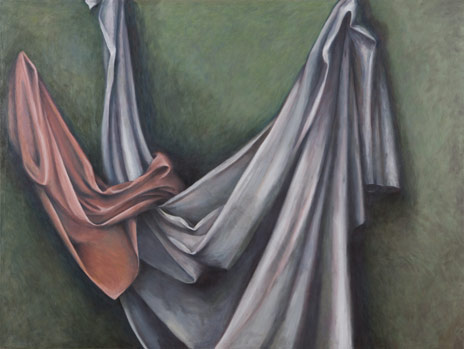 "Drapery I  54"" x 72"" oil/canvas 2004-2006"