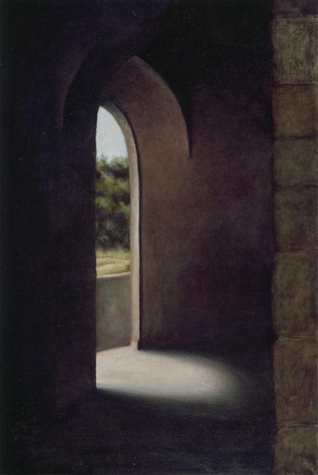 """Porto Maggiore, Montecastello di Vibo  36"""" x 24"""" oil/linen 2006"""