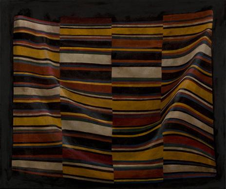 "Importing Wisdom: Tibetan Bangdian I  30"" x 36"" oil/canvas  2009"