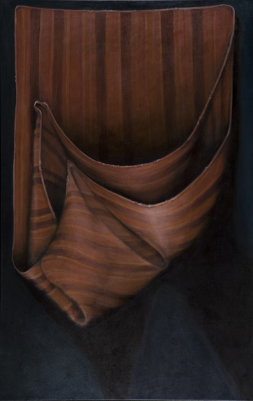 "Peruvian Huayno I    57"" x 37""    oil/canvas    2007"