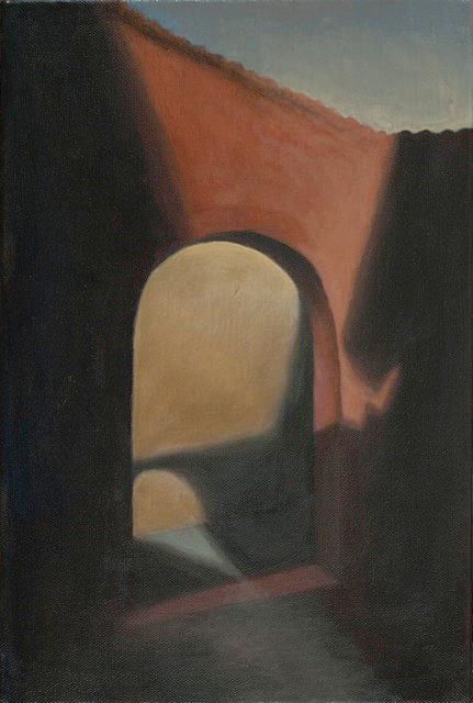 "Trastevere Arch, Rome  8"" x 12"" 2013"