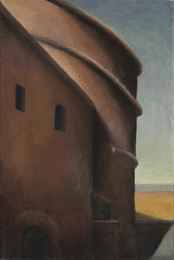 """The Pantheon,Rome"", oil/canvas 12"" x 8"", 2013"