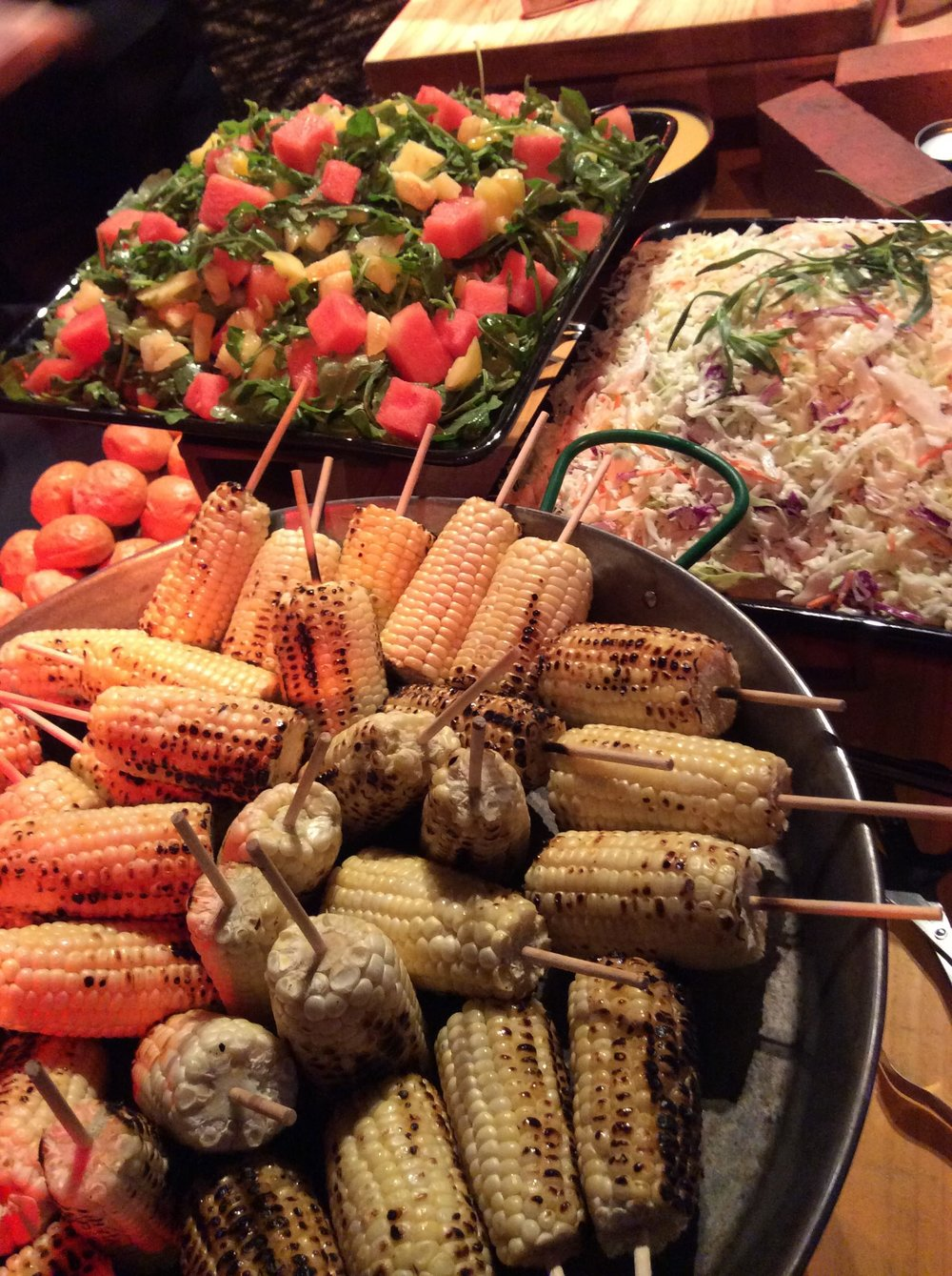 Catering-Los Angeles-Corn on the Cob-Buffet-Watermelon-Arugula.jpg