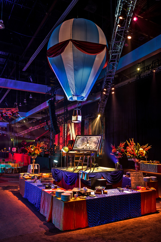 Grammy Celebration-2015-Los Angeles-Awards Season-Travel-Theme-Hot Air Balloon-Decor.jpg
