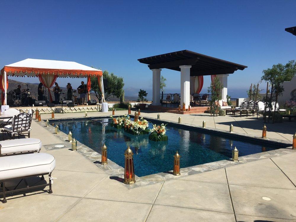 Poolside Moroccan Birthday