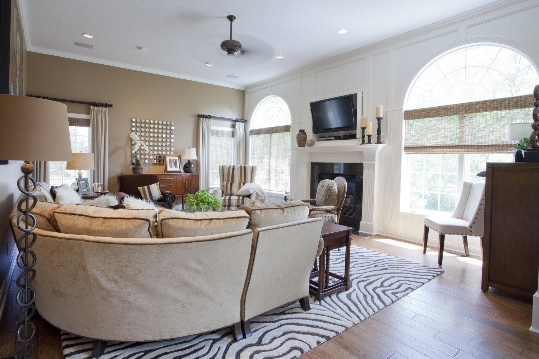 Quail Run Living Room — Grand Homes & Renovations
