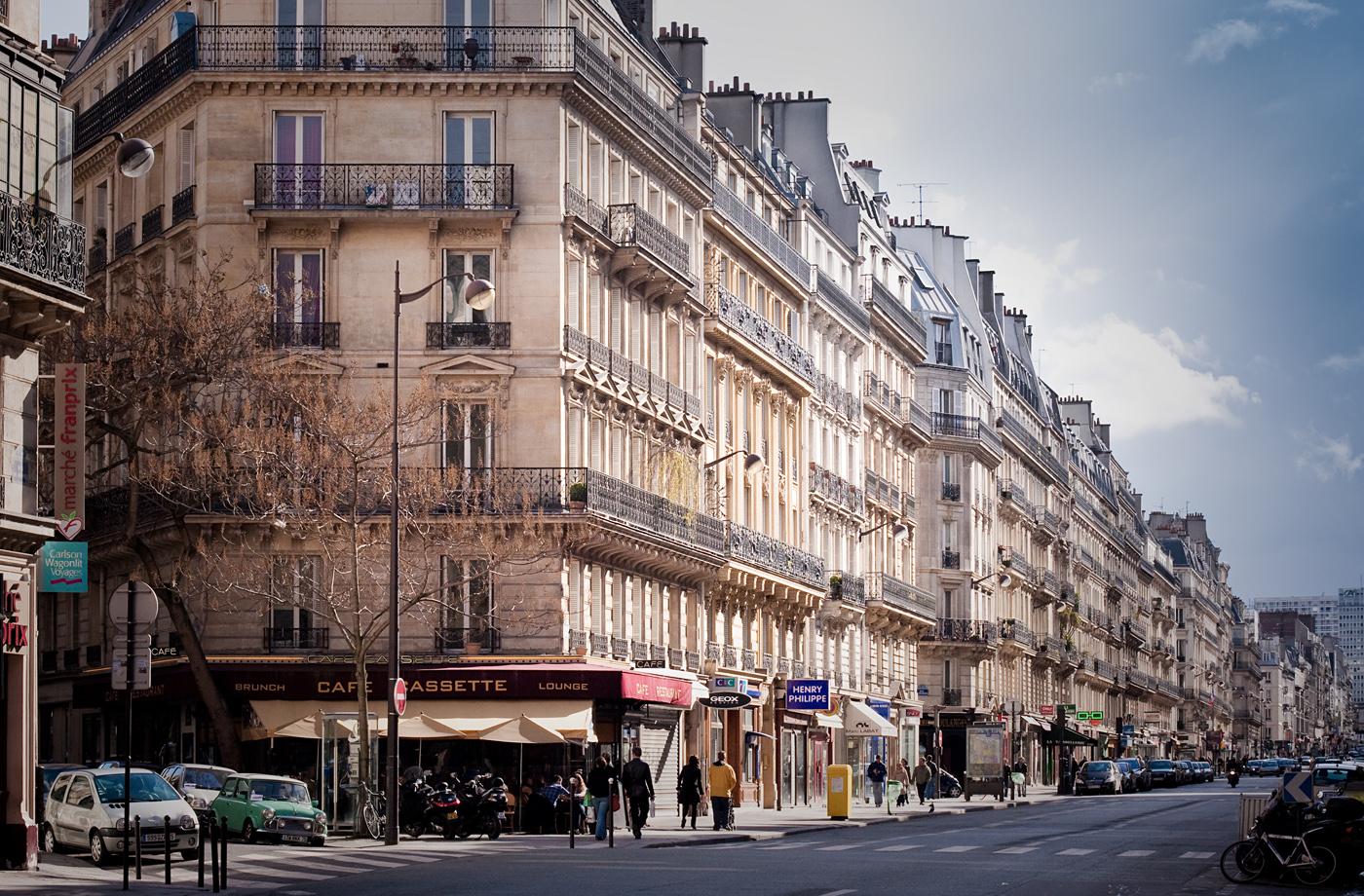 Café Cassette, Rue du Rennes, Paris