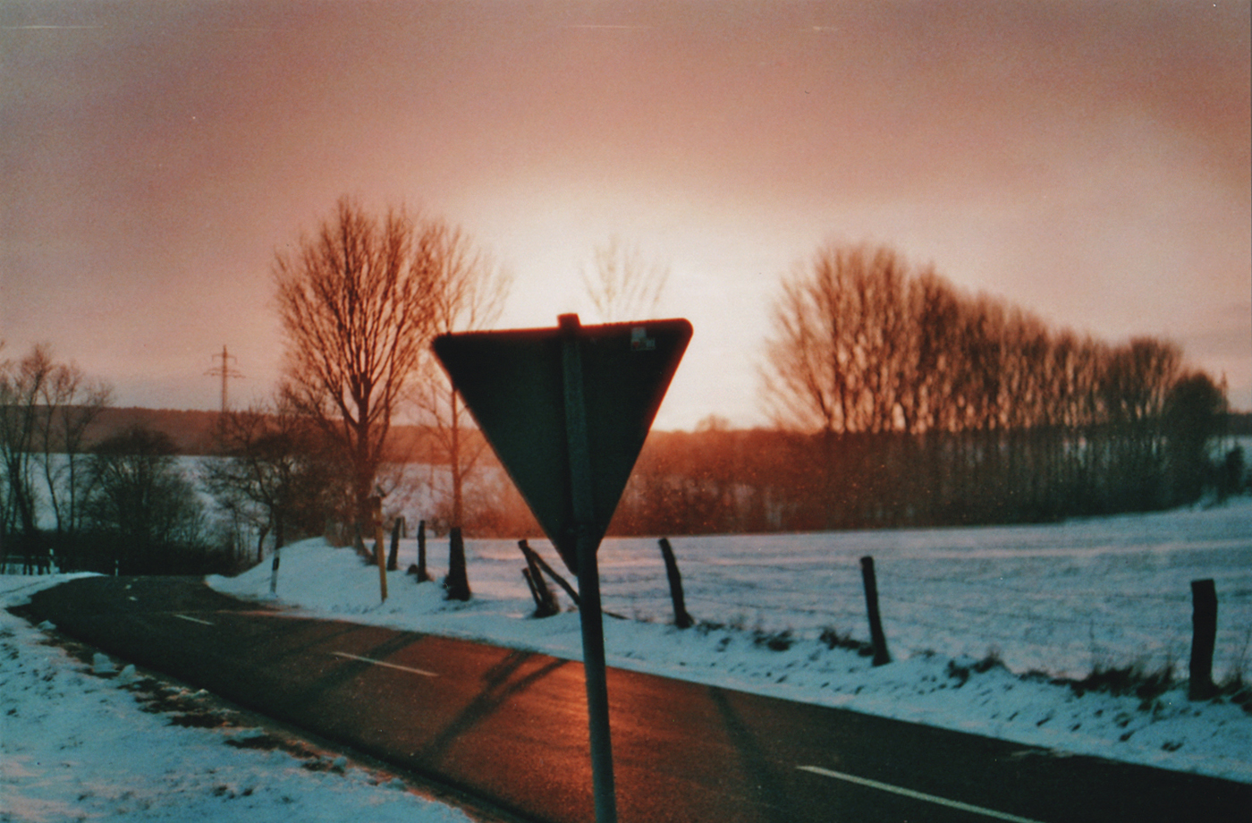 Triangular and Sunset on Film