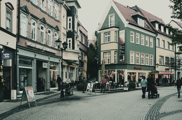 Downtown Ilmenau