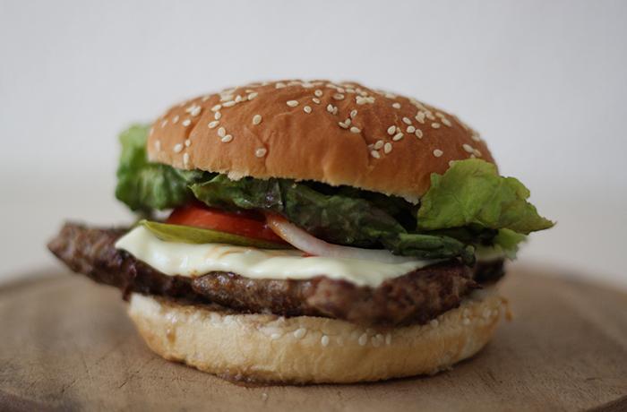 Homemade Burger, Delicious!