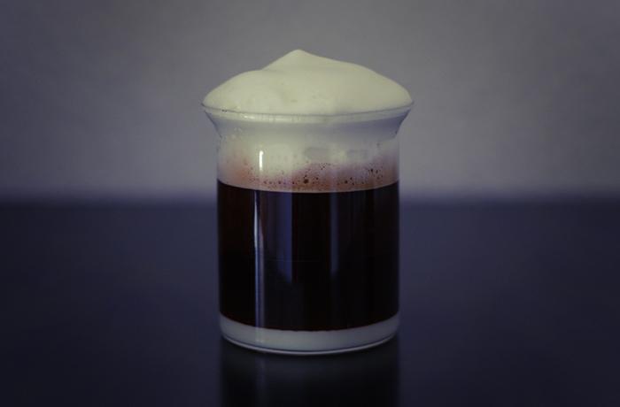 Condensed Milk, Espresso & Milk Froth