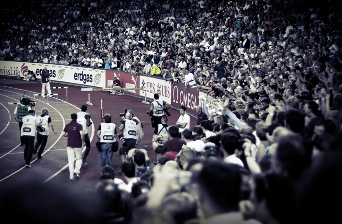 Usain Bolt Madness in Zurich