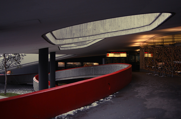 Underground Parking Lot