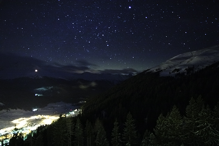 Davos And Stars In The Sky