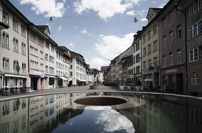 Judd Brunnen Winterthur