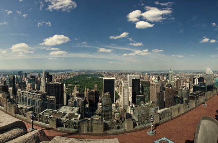 Top Of The Rock Panorama 1