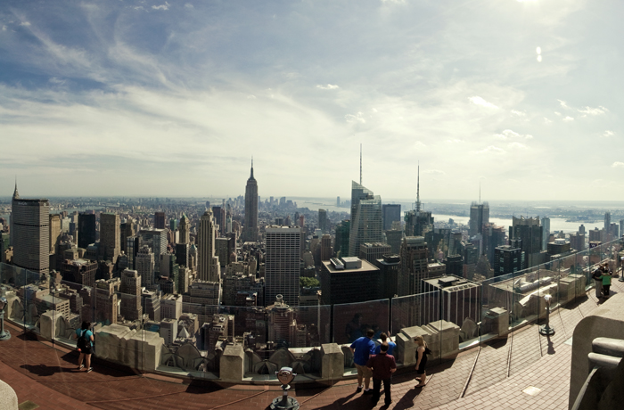 Top Of The Rock Panorama 2