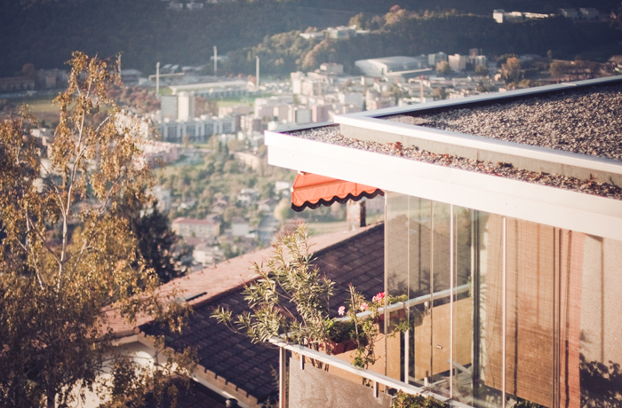 Residing in Lugano