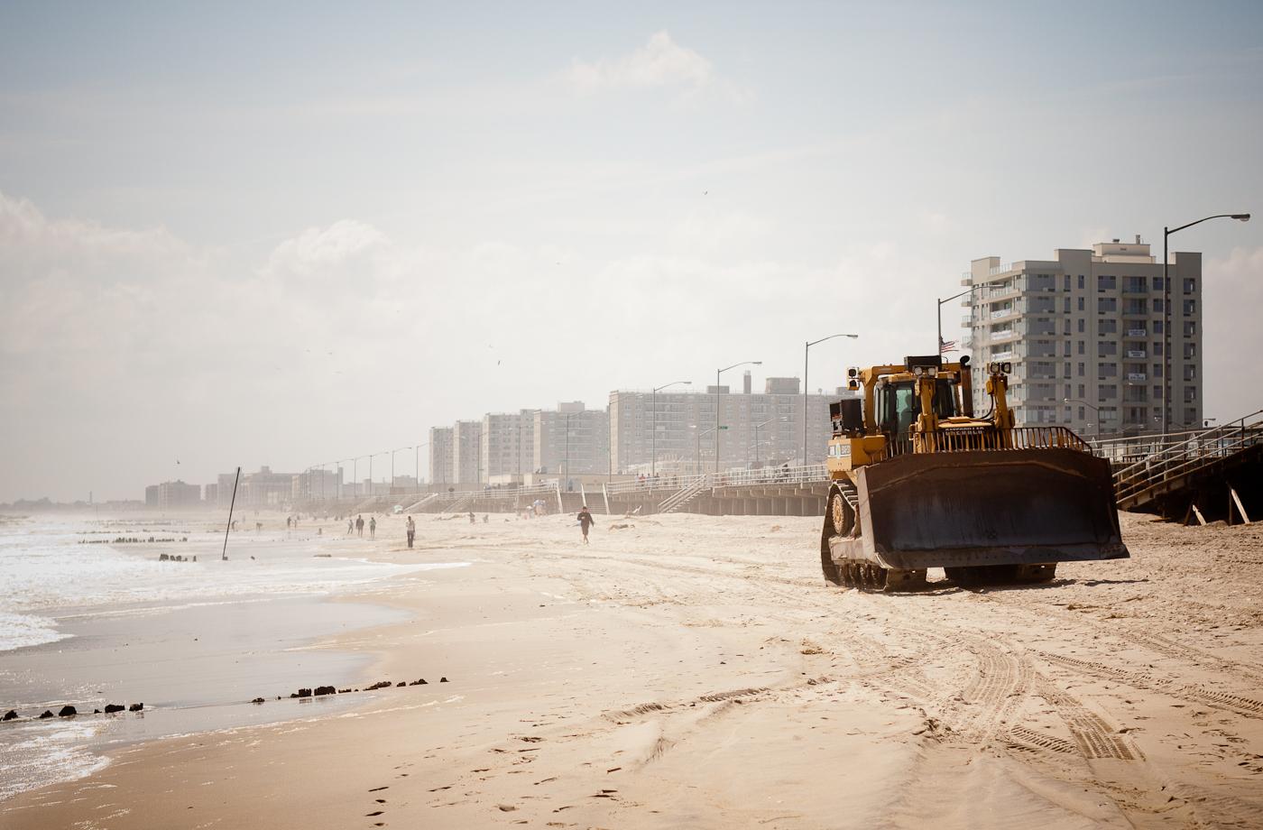 New York City Beach Maintenance
