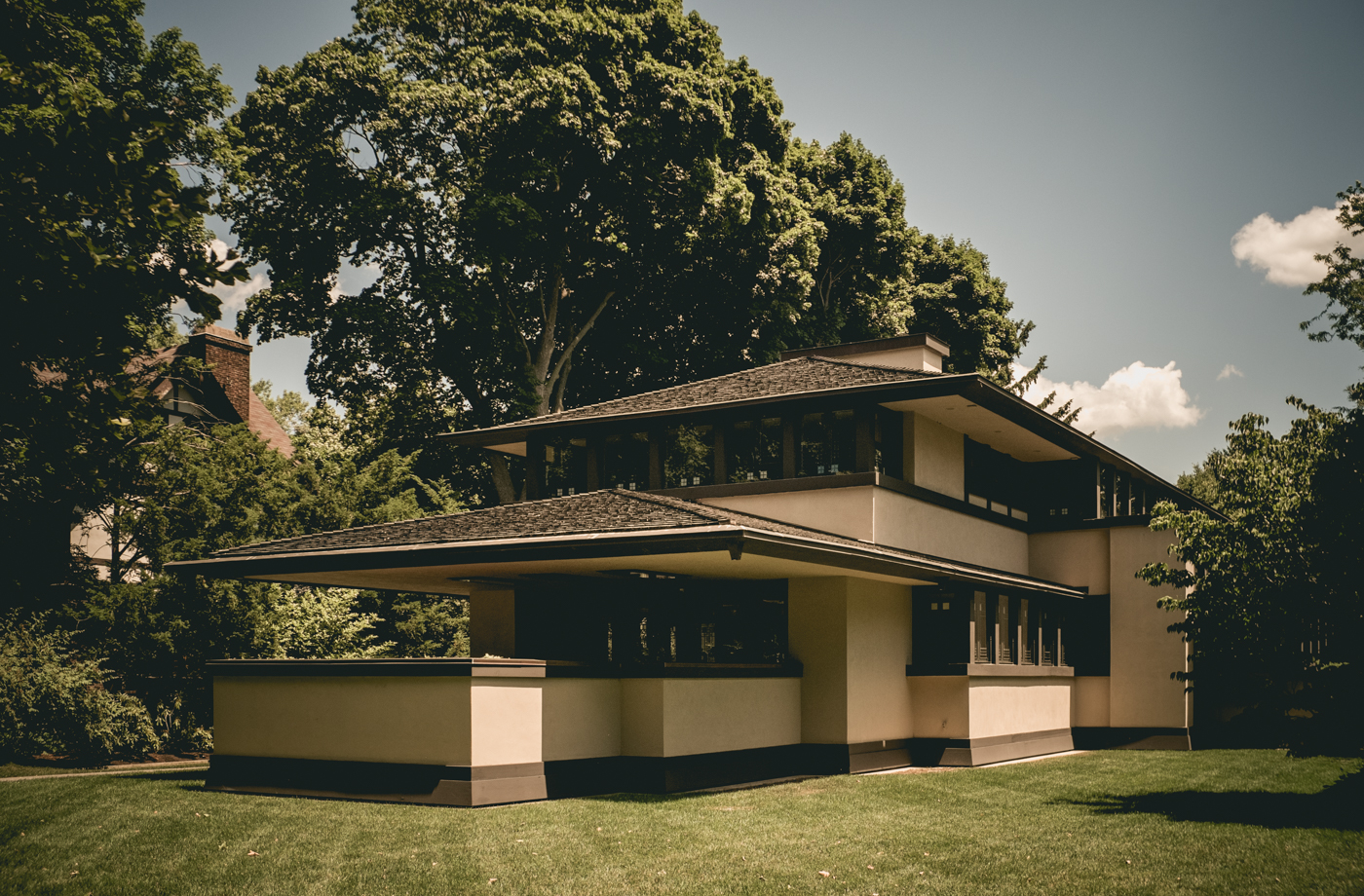 Edward E Boynton House by Frank Lloyd Wright
