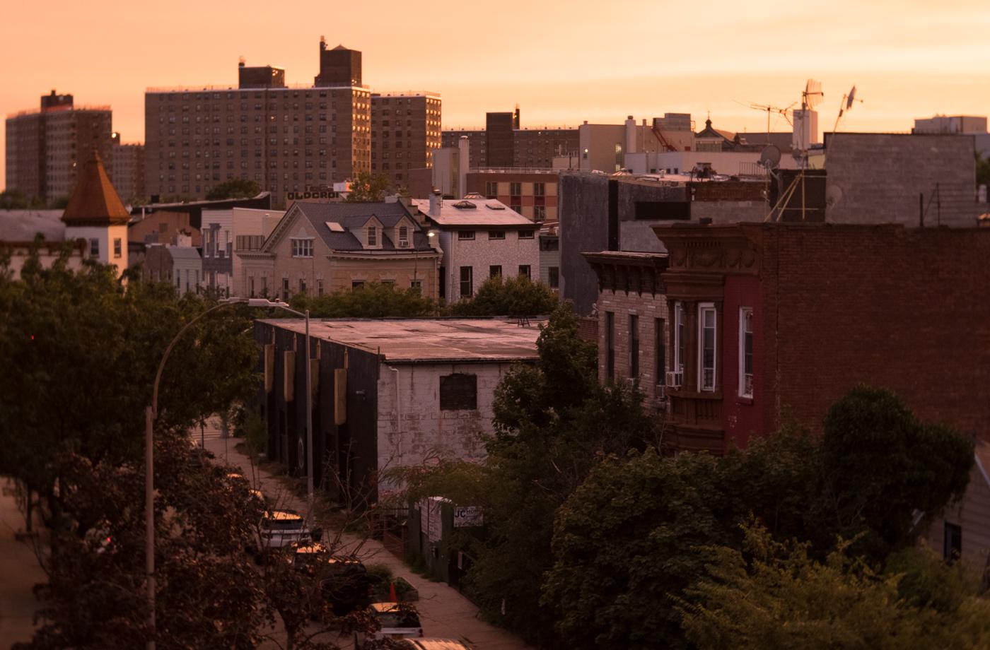 Hart St Sunset