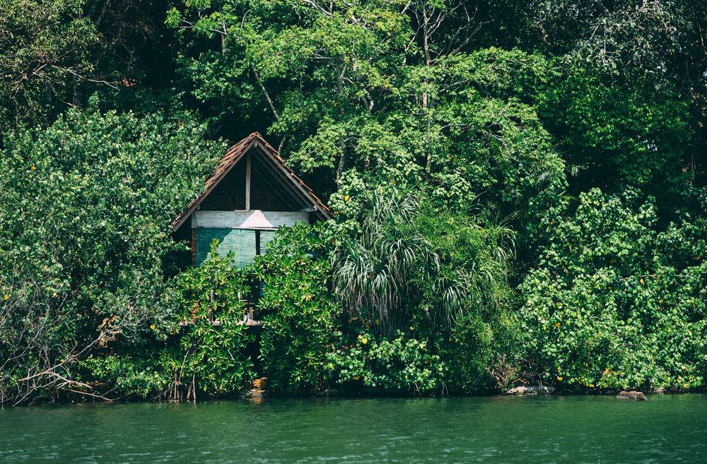 Monk's cabin