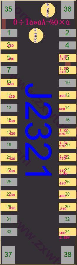 iPhone 6 Diode Measurement - Back Camera Connector J2321.JPG