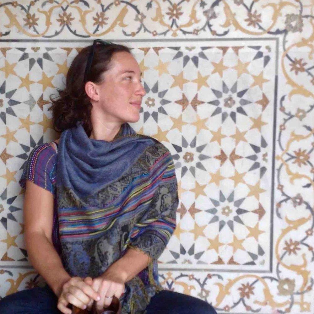 April Hyatt  Pro Bono Yoga Instructor