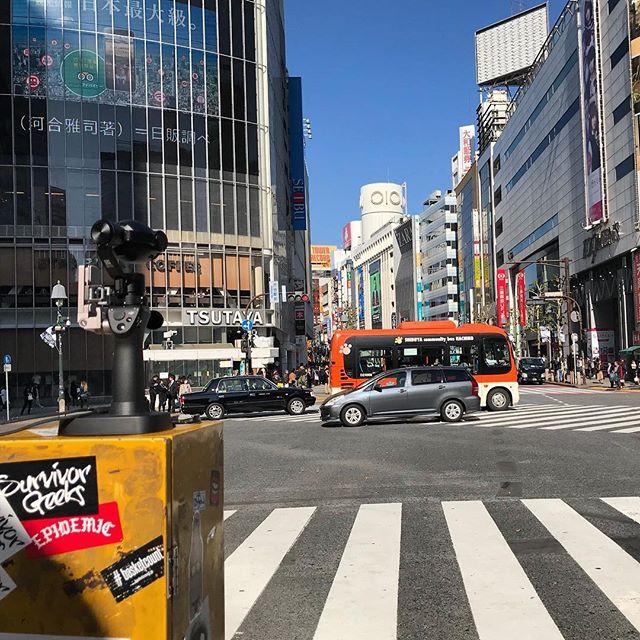 Timelapsing shibuya... 🎥 . . #ichikabachikafilm #japan #documentary #tokyo #shibuya