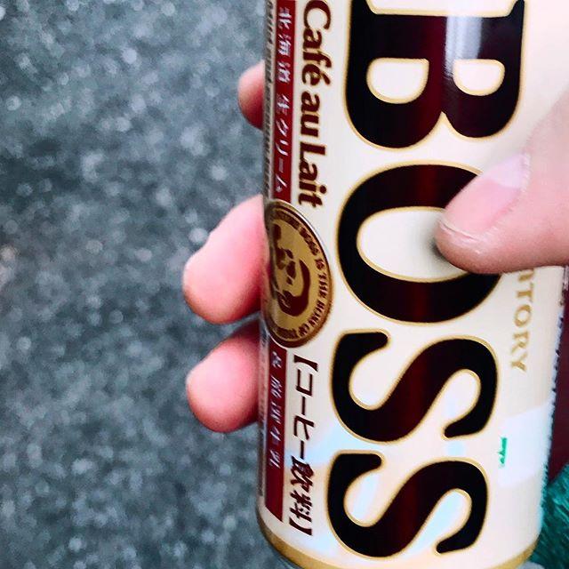 "Our ""unofficial"" sponsor. .  #bosscoffee #tokyo #ichikabachikafilm #documentary #film #japan #otaku #coffee"