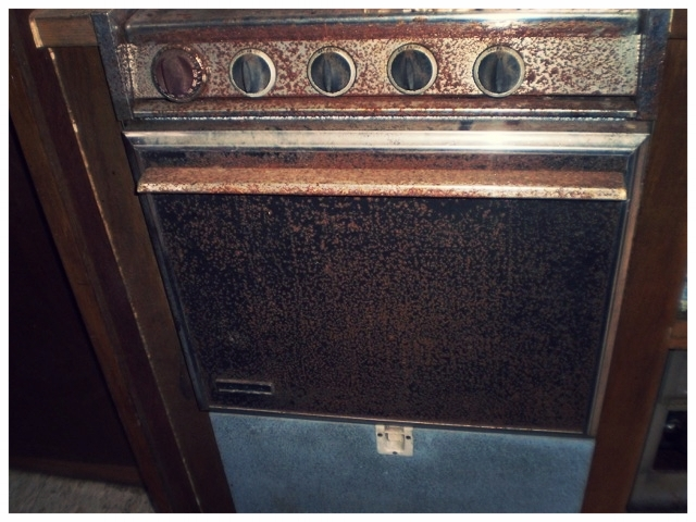 Corroded Oven