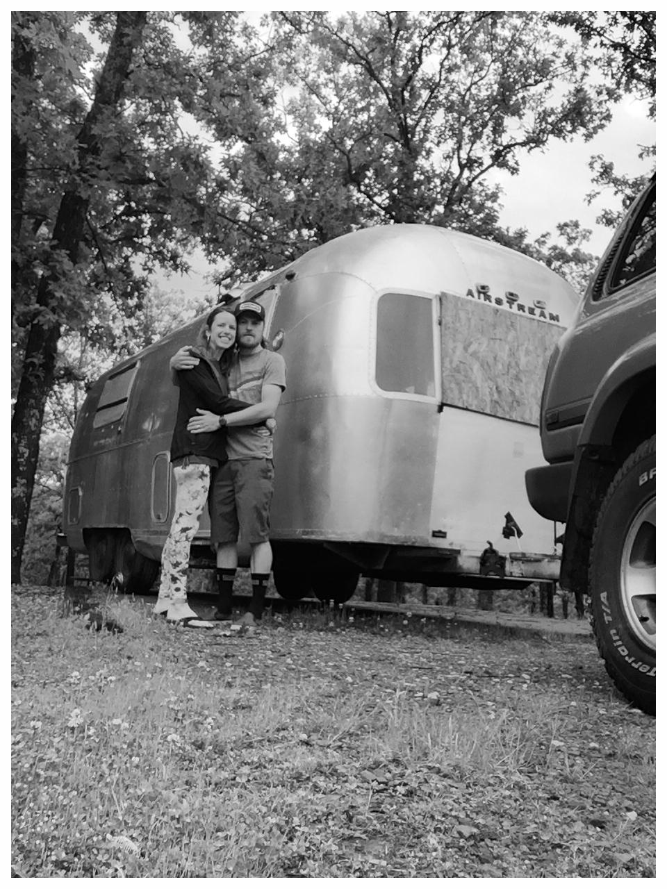 Campsite in Oklahoma