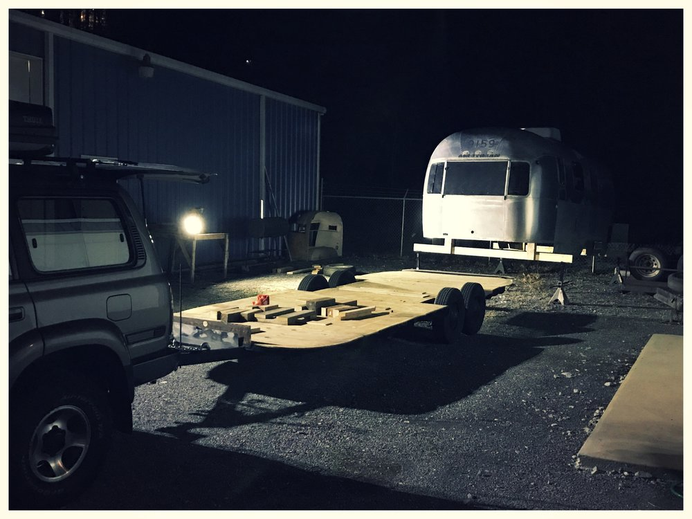 Separation of the Airstream Shell from the Frame