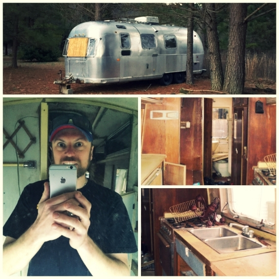 Our 1970 Airstream obviously needed some serious restoration and rebuilding