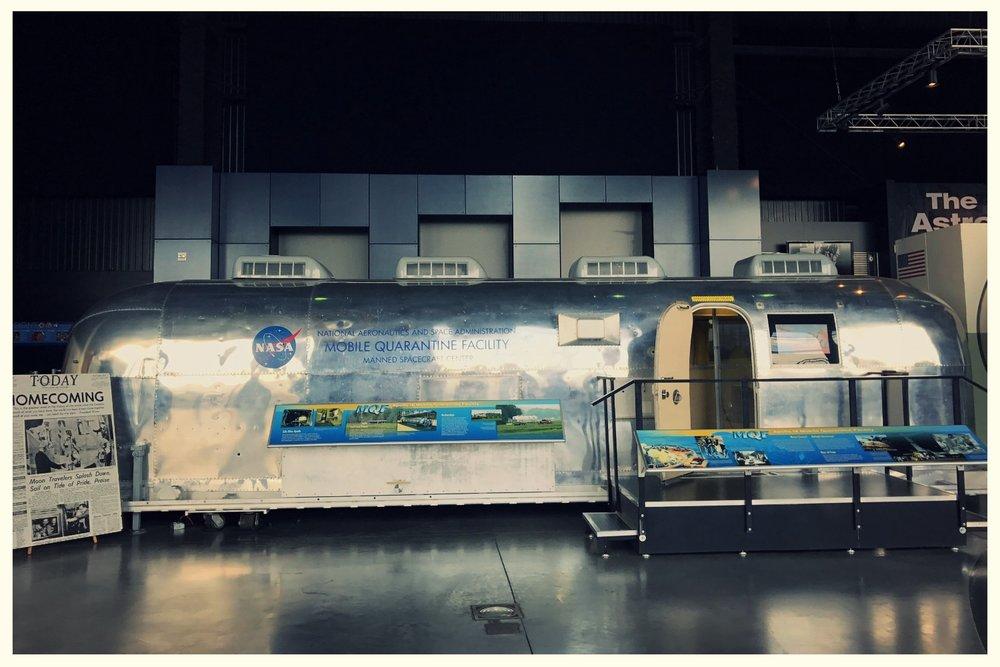 NASA Mobile Quarantine Facility on Display