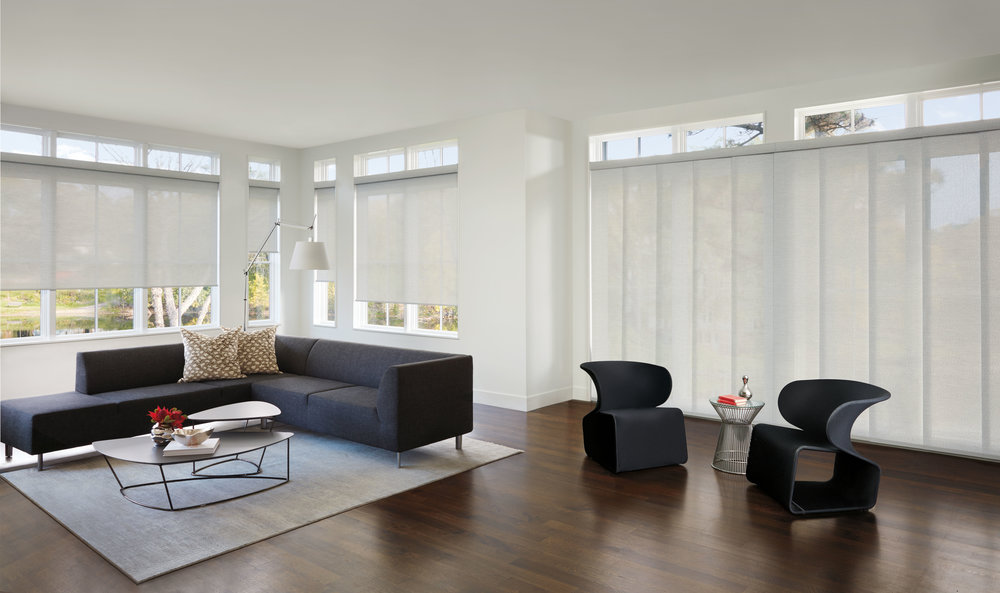 Custom Roll Shades in Scottsdale and Phoenix