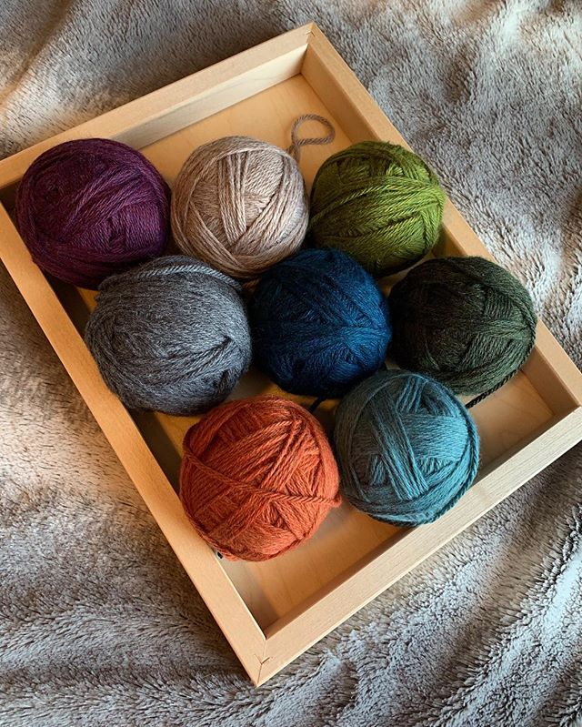 So excited to make something with these gorgeous colours!  #yarn #crochet #handmade #canada