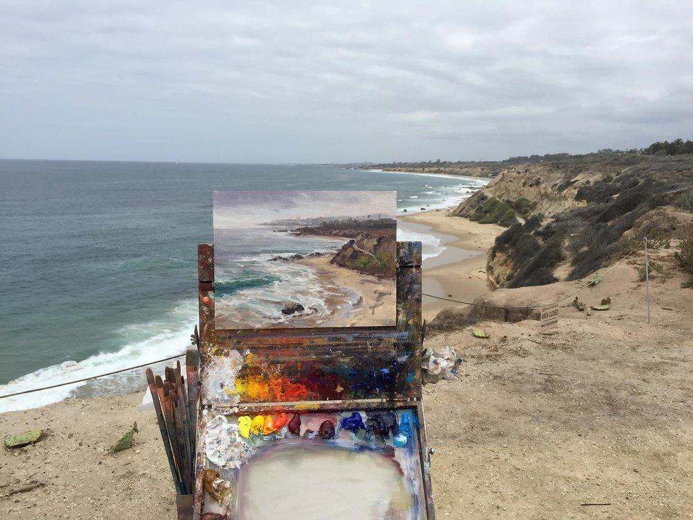painting at crystal cove, ca.jpg